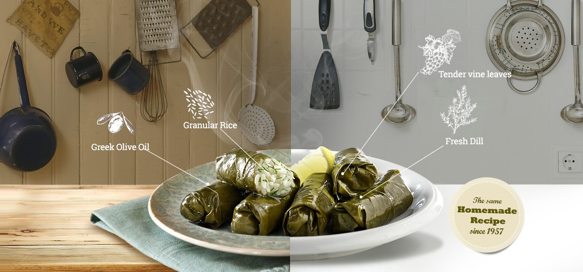 VINE LEAVES STUFFED WITH RICE