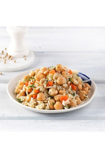 Risotto with Greek Island Chickpeas