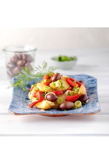 Potato Salad with Red Roasted Peppers